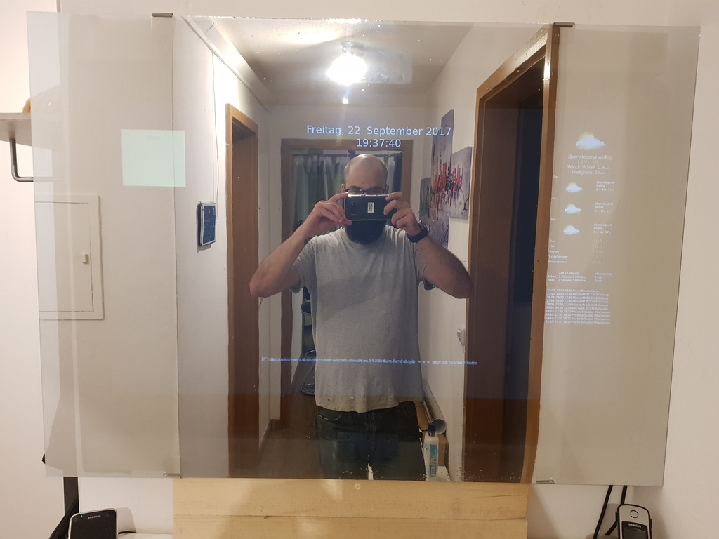 Prototyp Smart Mirror