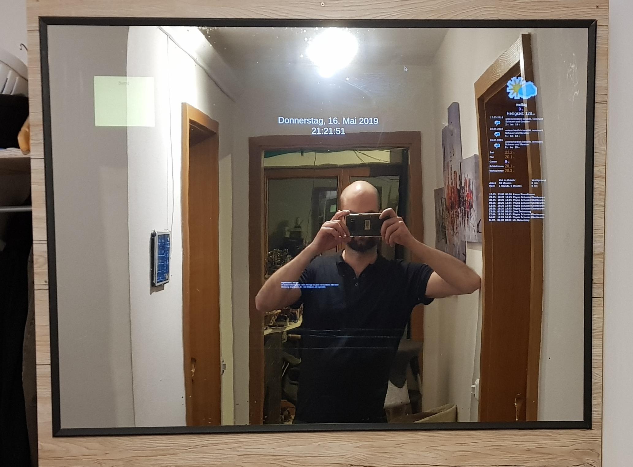 Magic Mirror 2 Anleitung