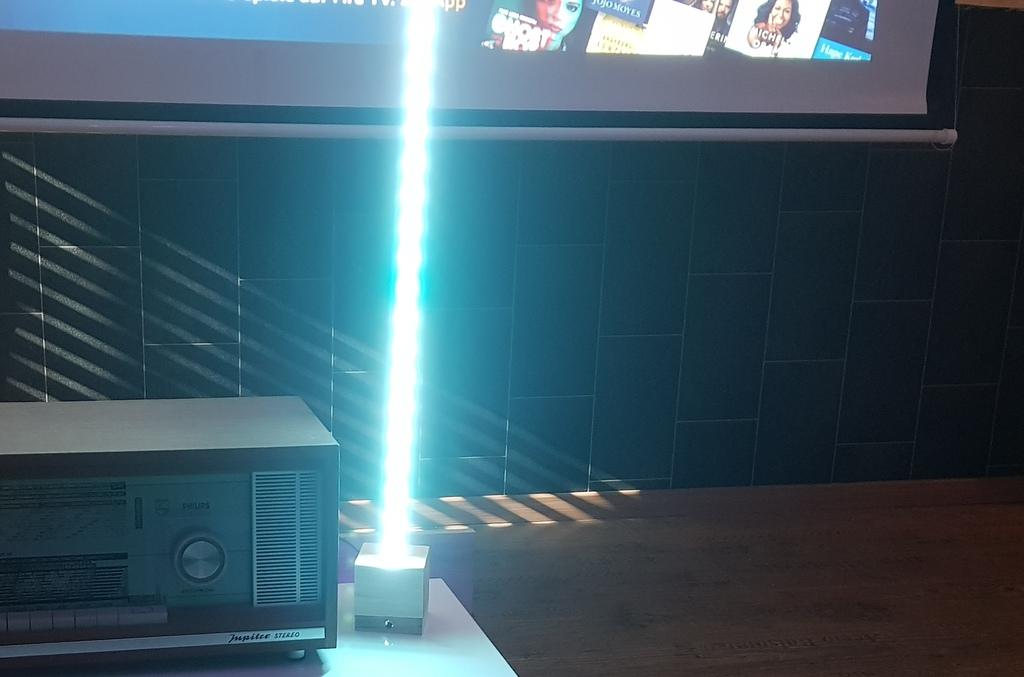 Stehlampe Weiß