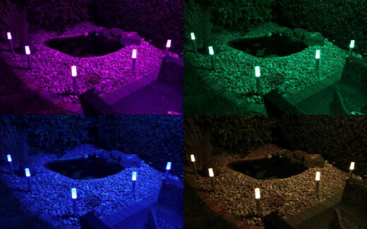 Collage Osram Smart+ Gardenpole