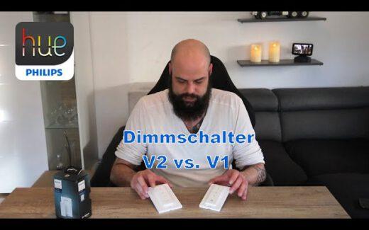 Hue DimmSchalter V2 vs. V1