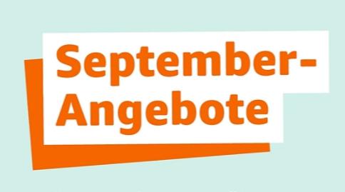 September Angebote