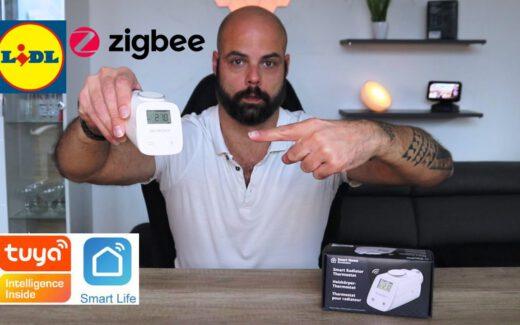 Lidl Zigbee Thermostat